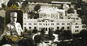 Marele Cartier General al Armatei Române - în clădirea Liceului Militar, astăzi Spitalul Militar (Str. H.M. Berthelot, nr. 7-9). Generalul Constantin Prezan, șeful Marelui Cartier General.