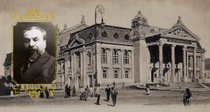 Parlamentul. Camera Deputaților - în clădirea Teatrului Național (Str. Agatha Bârsescu, nr. 18). G. Morțun - Președintele Camerei.